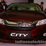 New Honda City diesel front-end from the launch