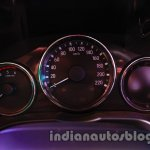 New Honda City diesel instrument console from the launch