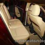 New Honda City diesel rear seat space from the launch