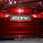New Honda City diesel rear view from the launch