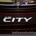 New Honda City diesel registration plate from the launch