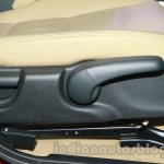 New Honda City diesel seat height adjustment from the launch