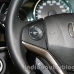 New Honda City diesel steering wheel controls from the launch