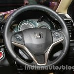 New Honda City diesel steering wheel from the launch