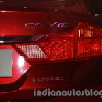 New Honda City diesel taillight from the launch