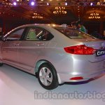 New Honda City petrol AT rear three quarters from the launch