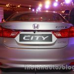 New Honda City petrol AT rear view from the launch