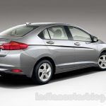 New Honda City rear three quarters official image