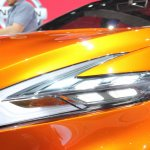 Nissan Sport Sedan Concept at 2014 NAIAS headlights