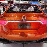 Nissan Sport Sedan Concept at 2014 NAIAS rear 2