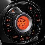Nissan Sunny facelift aircon controls press image
