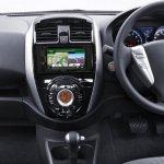 Nissan Sunny facelift dashboard press image