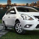 Nissan Sunny facelift press image