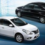 Nissan Sunny facelift profile press image