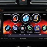Nissan Sunny facelift touchscreen press image