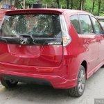 Perodua Alza facelift rear
