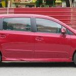 Perodua Alza facelift side