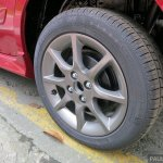 Perodua Alza facelift wheel