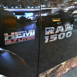 Ram 1500 Mossy Oak Edition Ram 1500 logo at NAIAS 2014