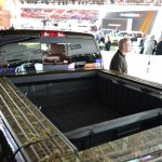 Ram 1500 Mossy Oak Edition cargo space at NAIAS 2014