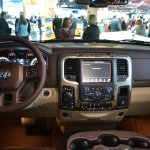 Ram 1500 Mossy Oak Edition dashboard at NAIAS 2014