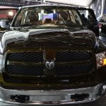 Ram 1500 Mossy Oak Edition front at NAIAS 2014