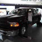 Ram 1500 Mossy Oak Edition front three quarter at NAIAS 2014