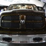 Ram 1500 Mossy Oak Edition headon at NAIAS 2014