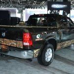Ram 1500 Mossy Oak Edition rear three quarter at NAIAS 2014