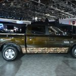 Ram 1500 Mossy Oak Edition side profile at NAIAS 2014