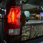 Ram 1500 Mossy Oak Edition tail light at NAIAS 2014