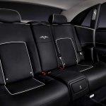 Rolls Royce Ghost V-Specification rear seat
