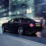Rolls Royce Ghost V-Specification rear three quarters