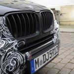 Spied 2014 BMW X3 Facelift grille