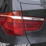 Spied 2014 BMW X3 Facelift taillight