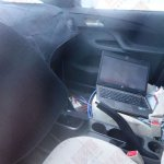 Spied Chevrolet Sail facelift China interior