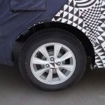 Spied Chevrolet Sail facelift China wheel