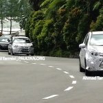 Spied Proton P2-30A Small Car front
