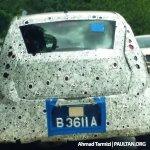 Spied Proton P2-30A Small Car rear