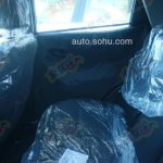 Ssangyong X100 spied rear seat