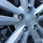 Ssangyong X100 spied wheel