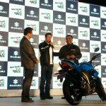 Suzuki Gixxer unveiled in India