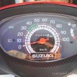 Suzuki Let's instrument cluster
