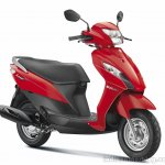 Suzuki Let's red shade official image