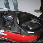 Suzuki Let's underseat storage