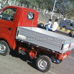 Tata Ace Zip LHD spied with new cargo bay rear quarter