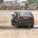 Tata Bolt taillights spyshot