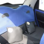 Tata Nano Twist 9 Balls rear seats