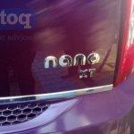 Tata Nano Twist Spied badge