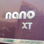 Tata Nano Twist XT badge